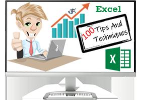 Excel 100 tips & techniques