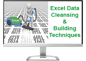 Excel Data Cleansing & Building Techniques Course