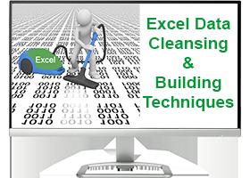 Excel Data Cleansing & Building Techniques Course