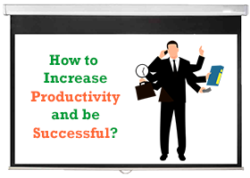 Keys to increase productivity course