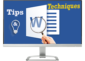 Word tips & techniques